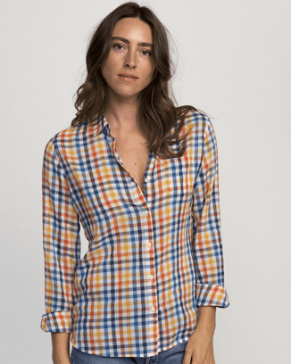 Trovata Clothing Multi Check / XS Grace Classic Shirt in Multi Check