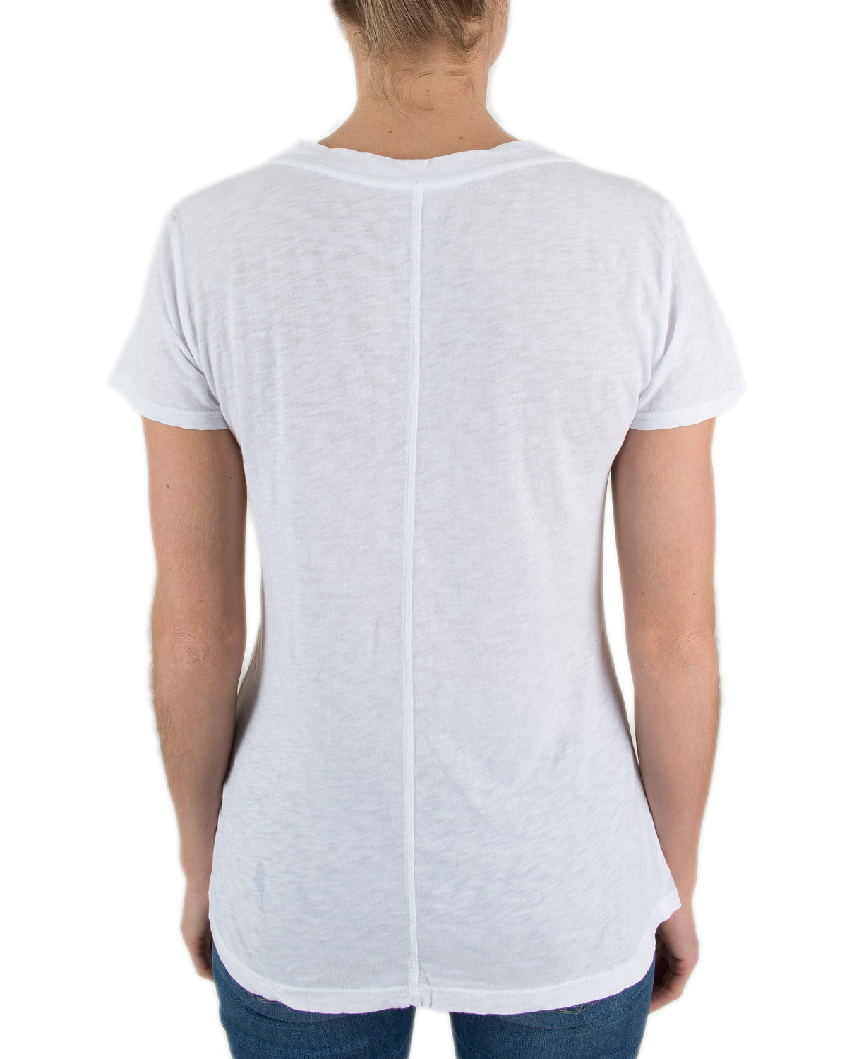 Velvet by Graham & Spencer Clothing Lilith V Tee in White