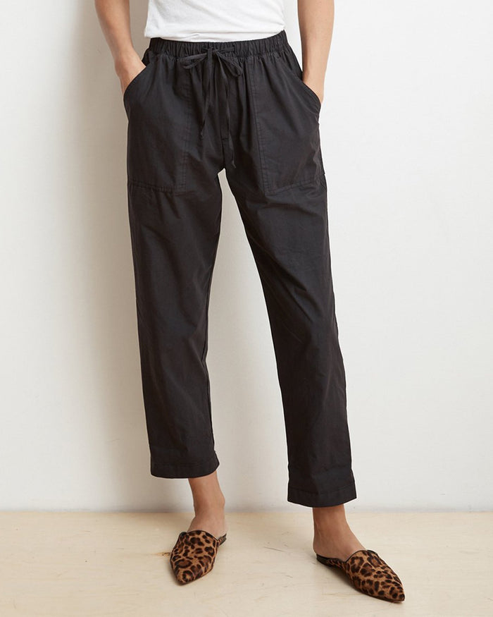 Velvet by Graham & Spencer Clothing Black / XS Megara Drawstring Pant