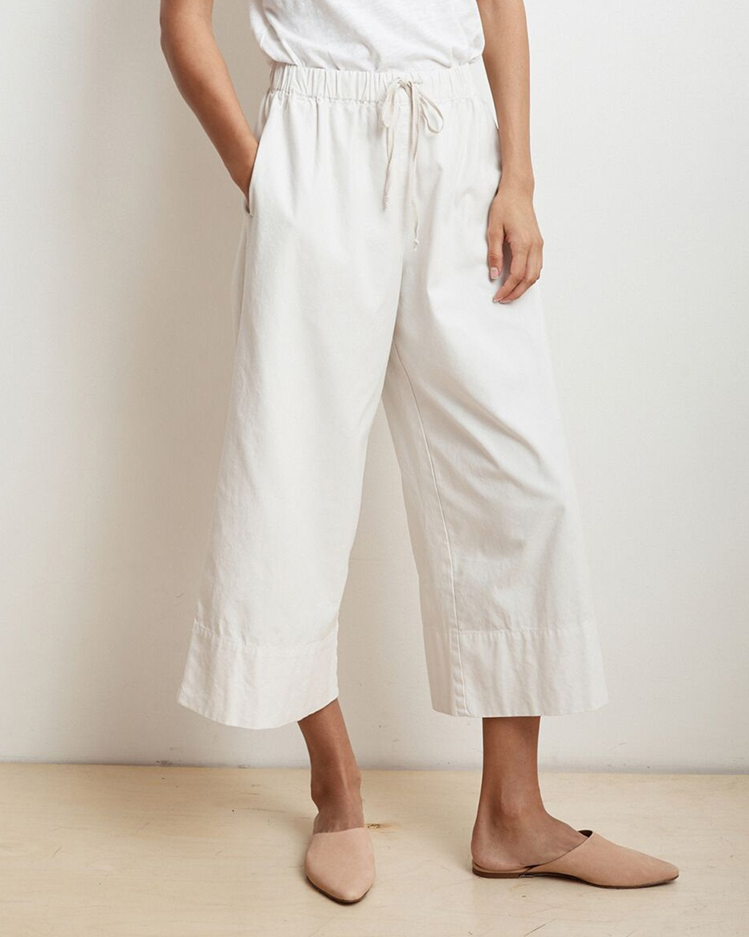 Velvet by Graham & Spencer Clothing Beach / XS Mirta Wide Leg Pant