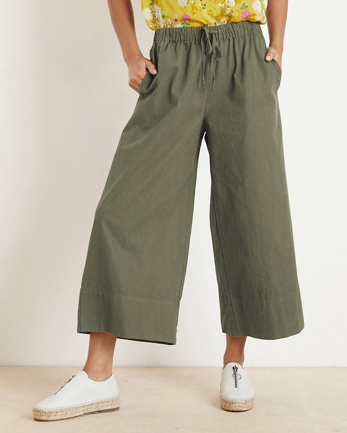 Velvet by Graham & Spencer Clothing Jungle / XS Mirta Wide Leg Pant
