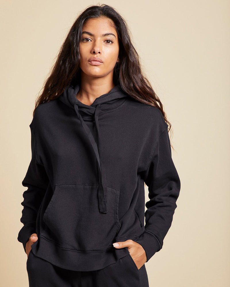 Velvet by Graham & Spencer Clothing Ojai Hoodie in Black
