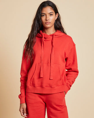 Velvet by Graham & Spencer Clothing Ojai Hoodie in Ribbon