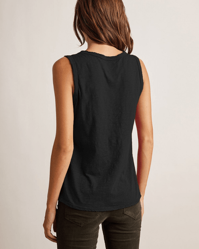 Velvet by Graham & Spencer Clothing Taurus Tank in Black