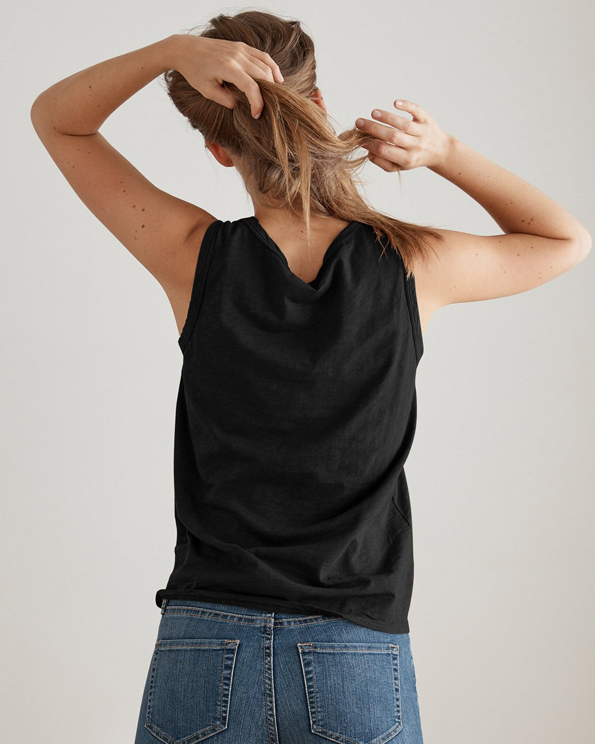 Velvet Clothing Black / XS Taurus Cotton Slub Tank