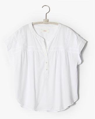 XiRENA Clothing Aubrey Top in White