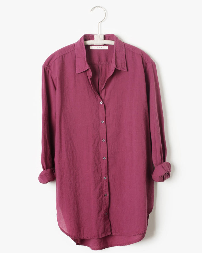 Xirena Clothing Beau Shirt in Fig