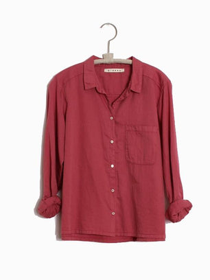 Xirena Clothing Blaine Shirt in Heather Rose