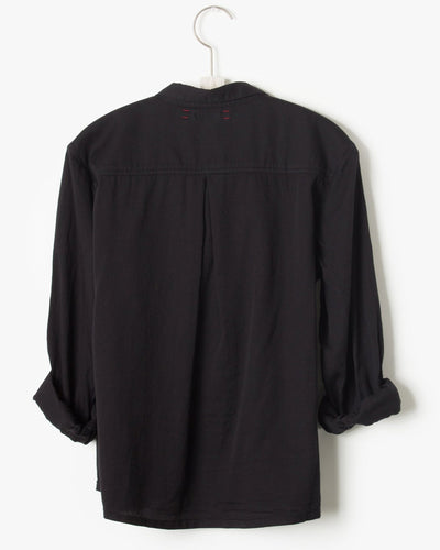Xirena Clothing Blaine Shirt in Vintage Black