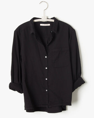 Xirena Clothing Vintage Black / XS Blaine Shirt in Vintage Black