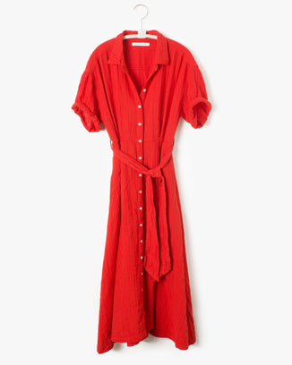 XiRENA Clothing Caylin Dress in Red Rose