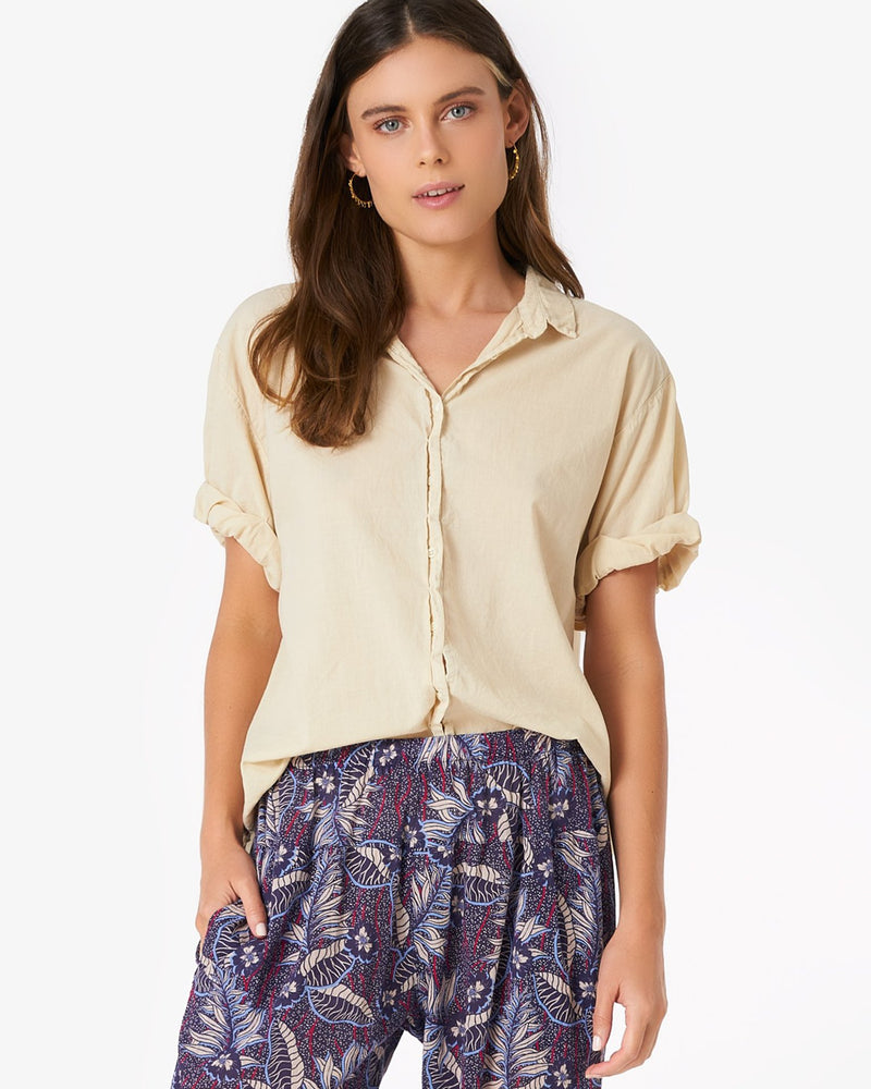 XiRENA Clothing Channing Shirt in Salt Marsh