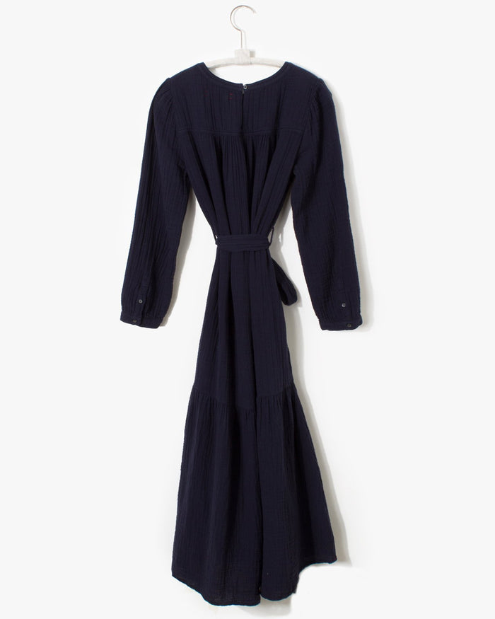 XiRENA Clothing Eliot Dress in Navy Night
