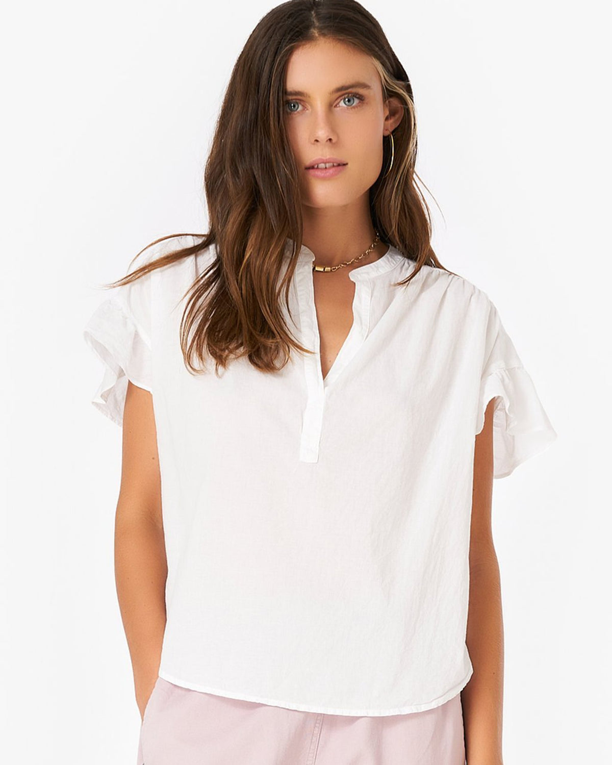 XiRENA Clothing Hanna Top in White
