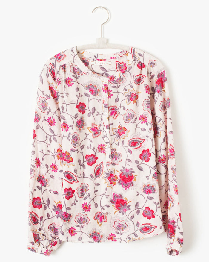 Xirena Clothing Hansen Top in Tea Rose