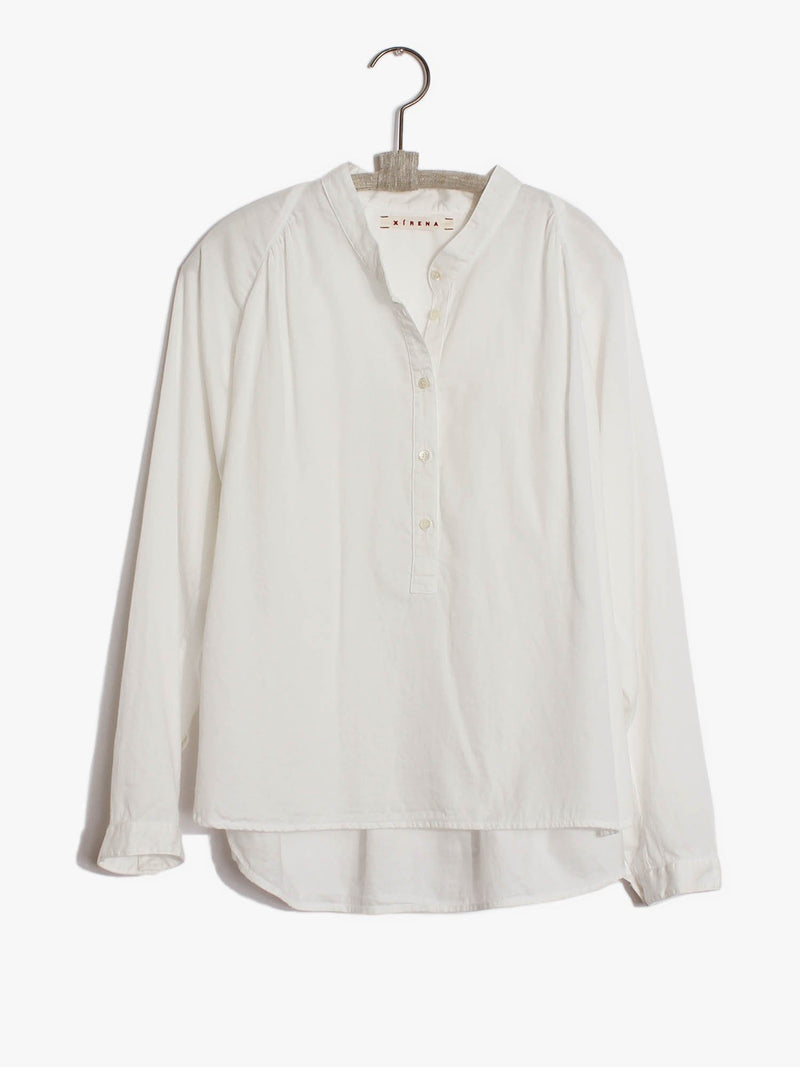XiRENA Clothing White Wash / XS Indy Top in White Wash