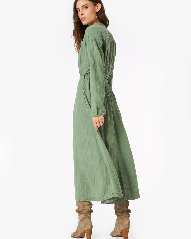 XiRENA Clothing Olivia Dress in Jade