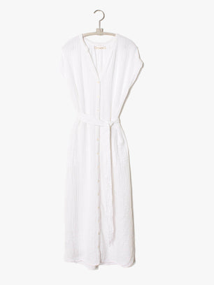 XiRENA Clothing White / XS Samantha Dress in White