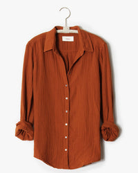 XiRENA Clothing Scout Shirt in Earth Tone