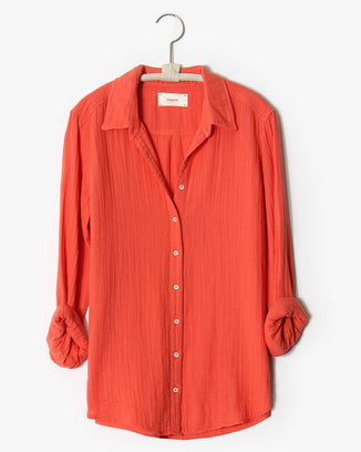 XiRENA Clothing Scout Shirt in Paprika