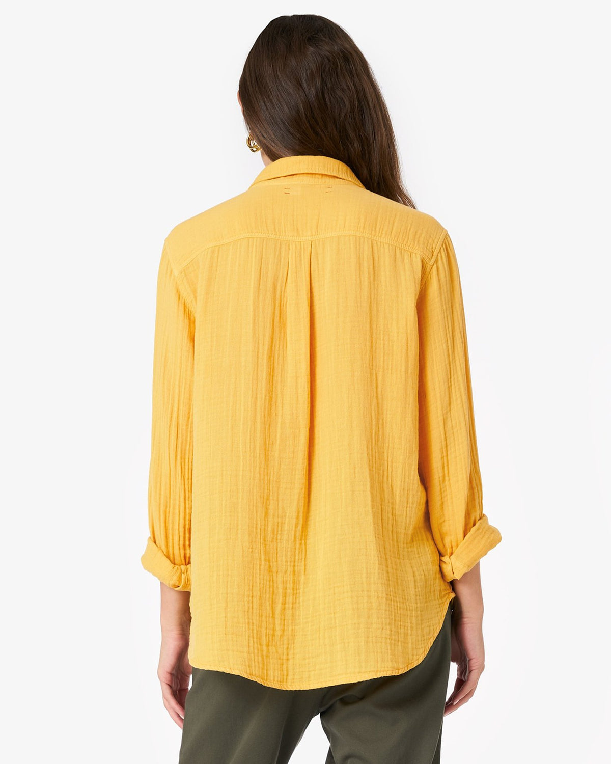 XiRENA Clothing Scout Shirt in Pollen