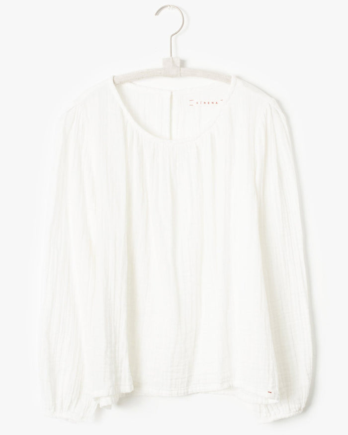 Xirena Clothing Stella Top in White