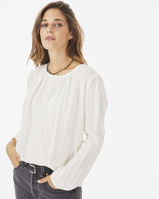 Xirena Clothing White / XS Stella Top in White