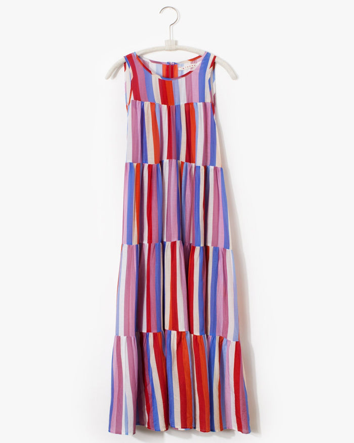 XiRENA Clothing Sorrento / XS Stripe Eva Dress in Sorrento