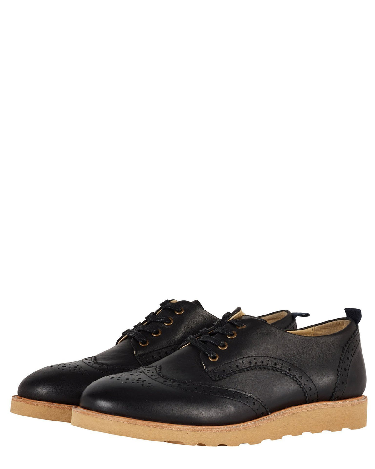 Young Soles Shoes Brogue Shoe in Black