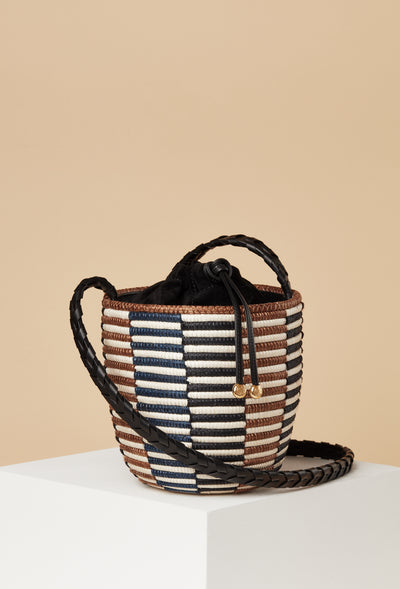 Crossbody Lunchpail / Checkerboard