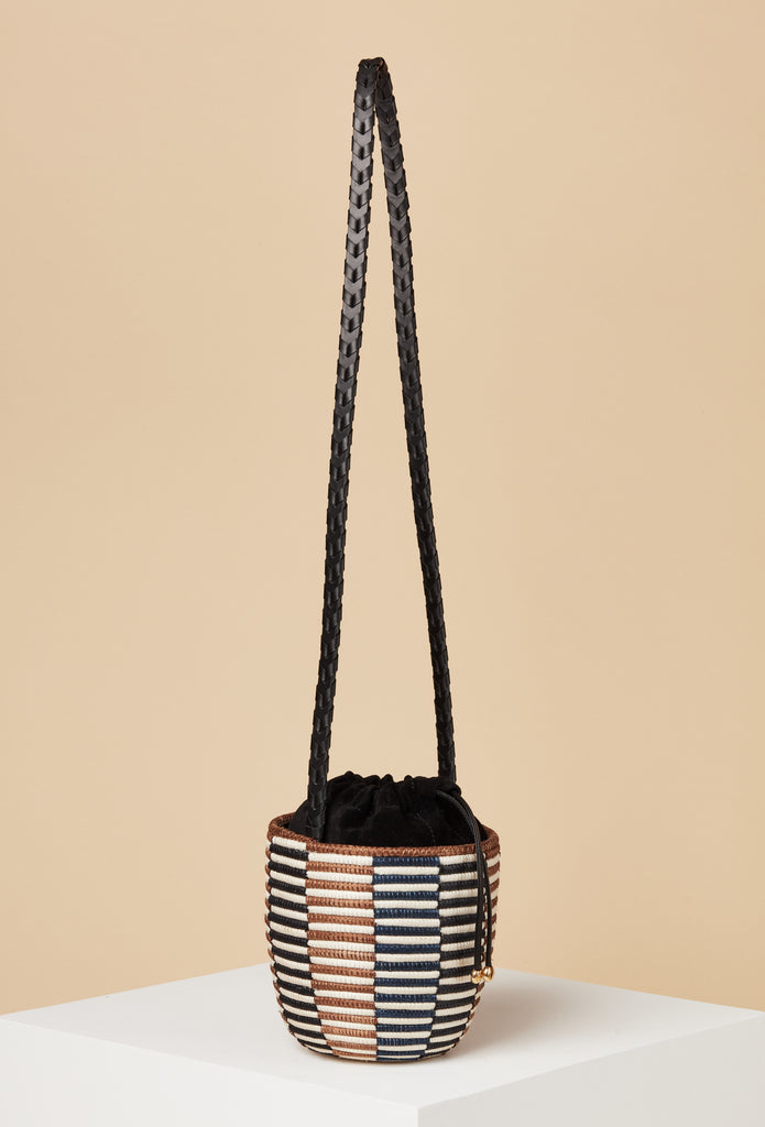 LAST ONE - Crossbody Lunchpail / Check