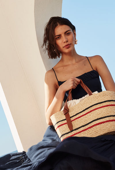Double Stripe Tote