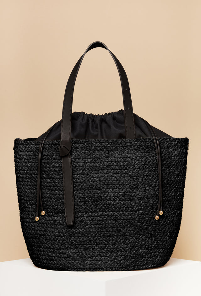 Large Tote  /  Black