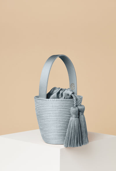 Party Pail / Silver Blue