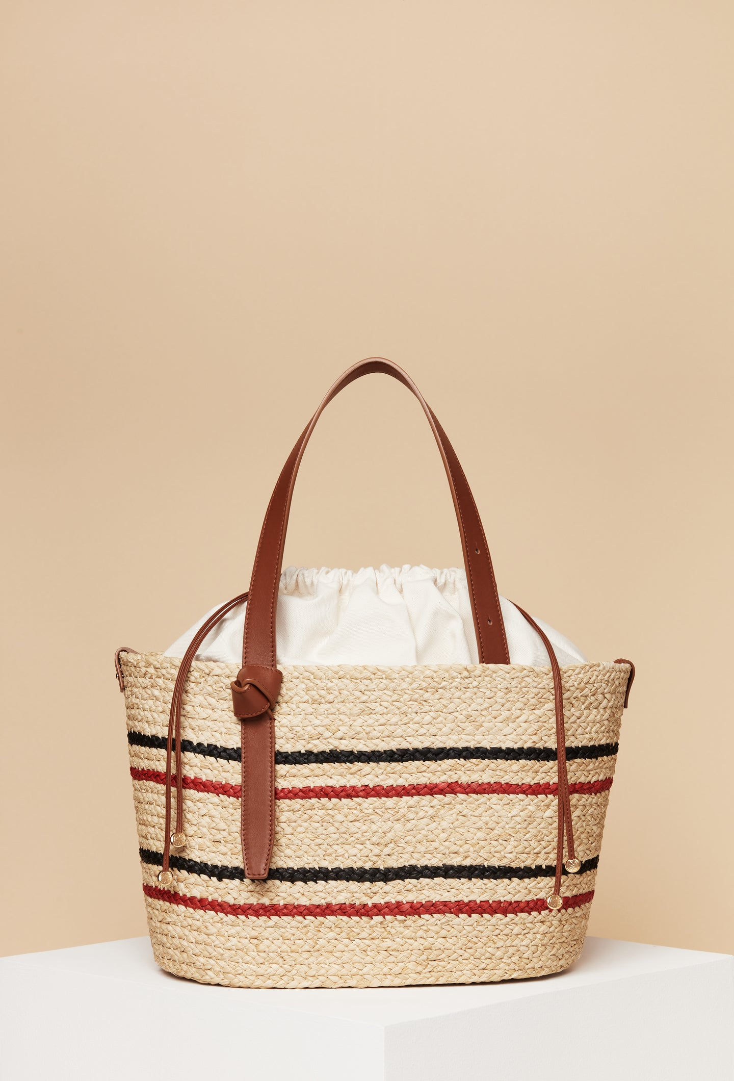 Small Tote / Double Stripe