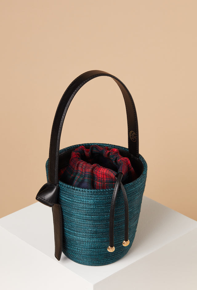 Green Tartan Plaid Lunchpail
