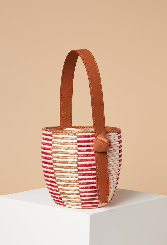 Pink Checkerboard Lunchpail