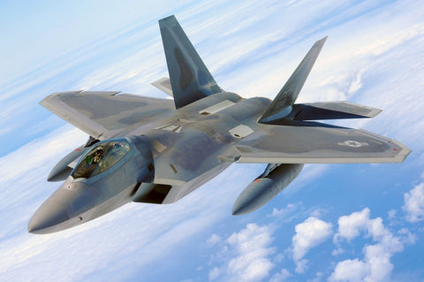 avion de chasse f22 raptor us air force