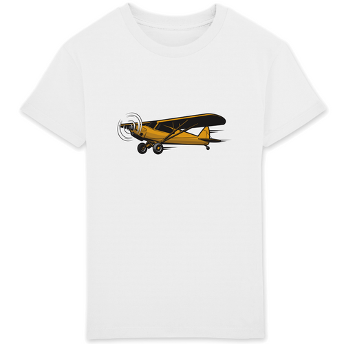T-shirt Enfant - Avion Piper Cub