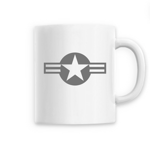 Mug - Cocarde Emblème US Air Force Tricolore