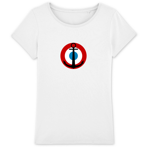 T-shirt Femme - Cocarde Aéronavale Aviation Navale
