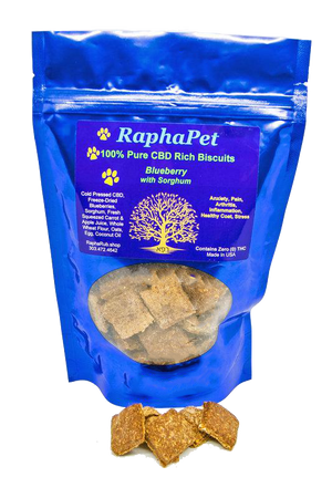 Load image into Gallery viewer, RaphaPets CBD Rich Biscuits