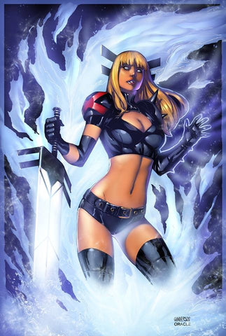 "SIGNED Magik X-Men 11x17"" Art Print by Jordan Gunderson & Oracle"