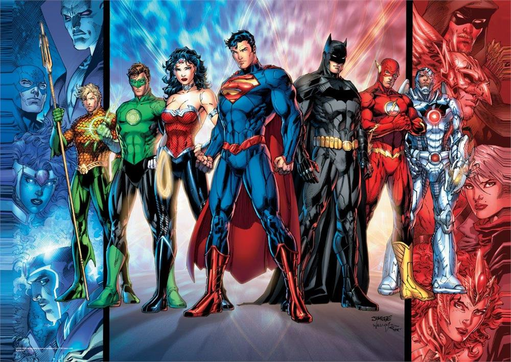 DC Comics Justice League (The Justice League) MightyPrint Wall Art ...