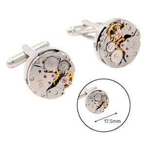 Automatic Watch Engine Cufflinks