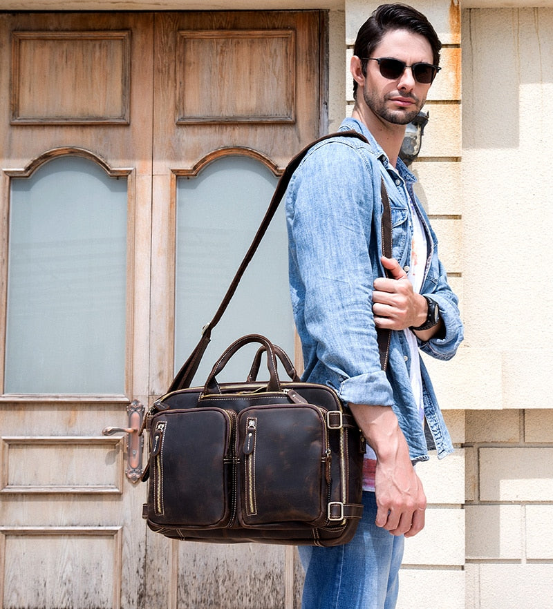 2-in-1 Satchel / Briefcase