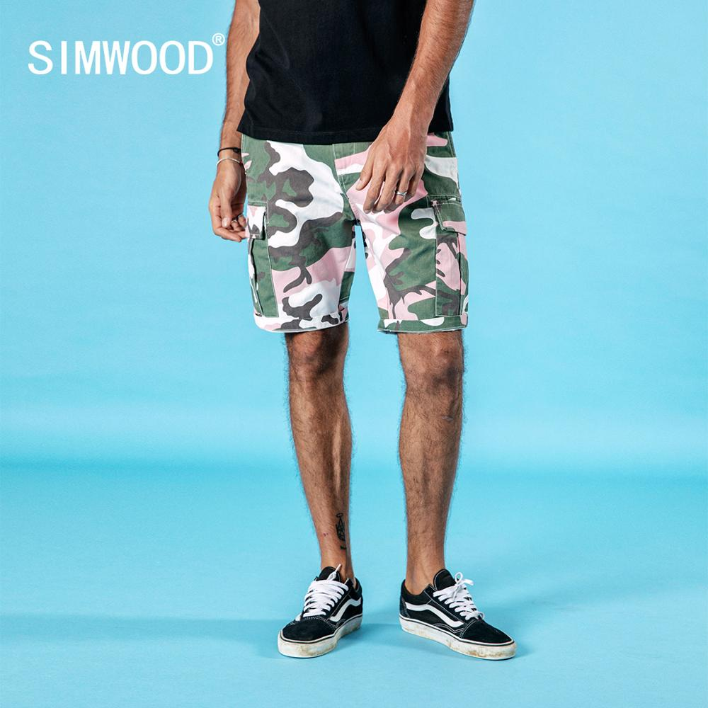 SIMWOOD® Camo Cargo Shorts