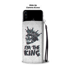 Load image into Gallery viewer, Skull King Wallet Phone Case