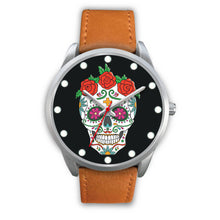 Load image into Gallery viewer, Rosa - Sugar Skull Watch