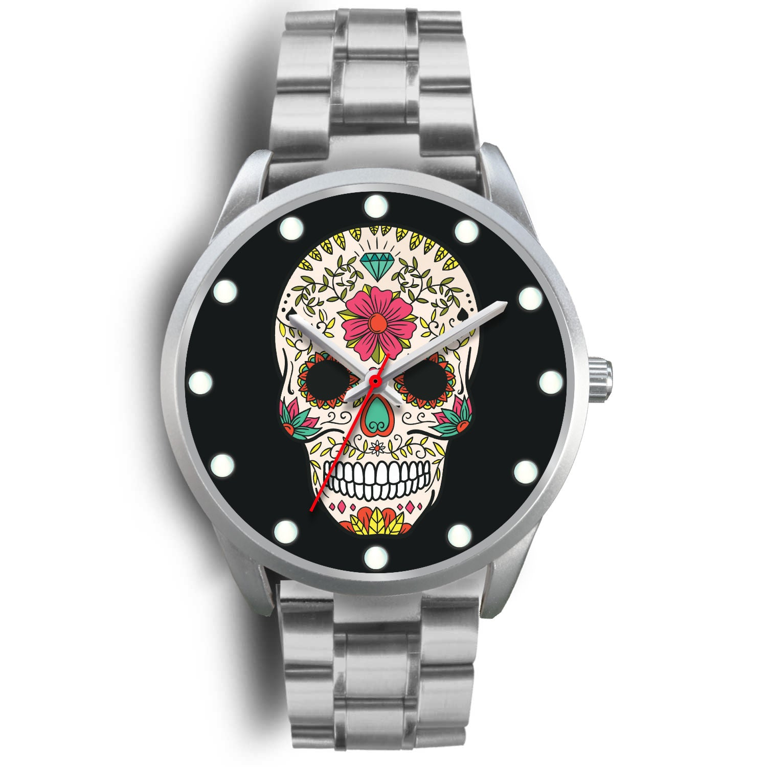 Tío Berto - Sugar Skull Watch